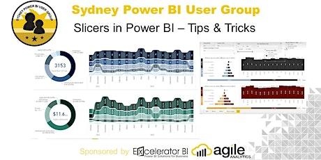 Sydney Power BI User Group -Slicers in Power BI  (ONLINE EVENT) tickets