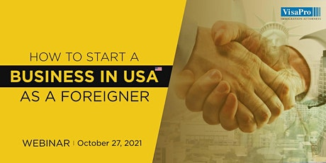 Securing An L-1 Visa To Start Your Business In the US tickets