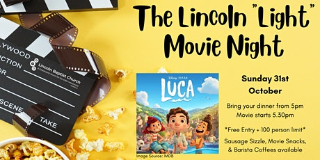 """The Lincoln """"Light"""" Movie Night tickets"""