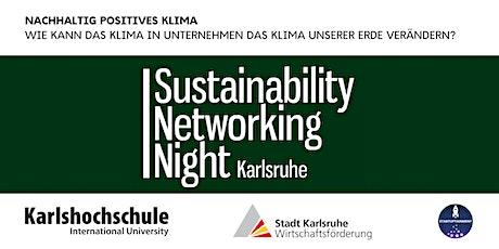 Sustainability Networking Night Karlsruhe Tickets