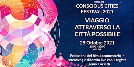 """Film """"Viaggio Attraverso la Città Possibile"""" entradas"""