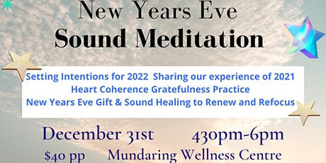New years Eve Sound Meditation tickets