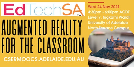 EdTechSA event: Augmented Reality for your classroom with the CSER team tickets