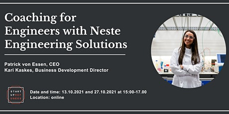 Coaching for Engineers with Neste Engineering Solutions biglietti