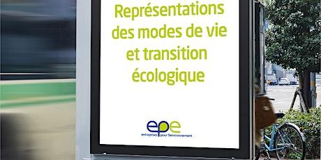 Représentations des modes de vie et transition écologique billets