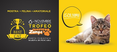 The Best Cat 2021 - Mostra Felina Amatoriale biglietti