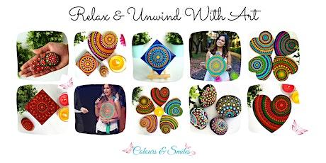 Meditative Mandala Painting Experience in the Roma Street Parklands tickets