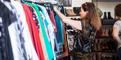 Pre-owned + new designer & vintage fashion pop-up shopping event tickets