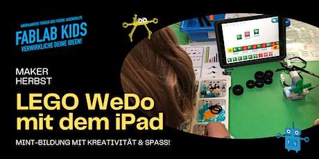 FabLabKids: maker-Herbst - LEGO WeDo mit dem iPad erkunden Tickets