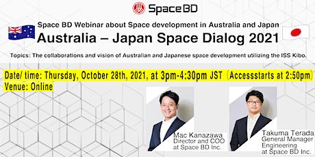 Australia – Japan Space Dialog 2021 biljetter