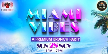 Miami Vibes Brunch tickets