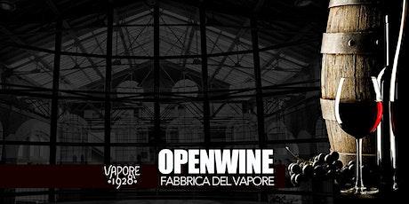 OpenWine alla Fabbrica del Vapore biglietti