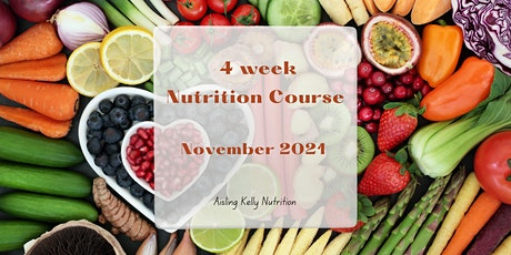 4 week Nutrition Course tickets