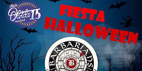Fiesta Halloween entradas