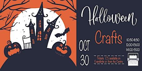 Halloween Crafts tickets