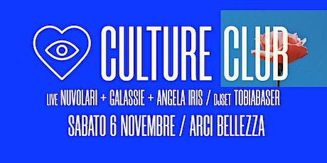 Culture Club 6.11 biglietti