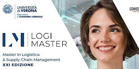 Openday LogiMaster 25 ottobre biglietti