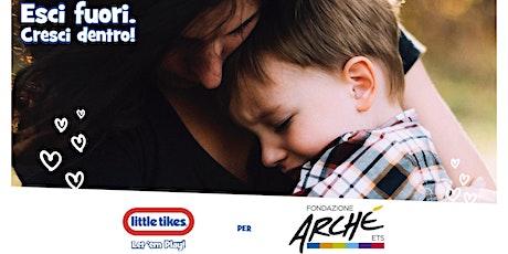 Little Tikes per Fondazione Arché - Cozy Coupe Limited Edition in Mostra biglietti