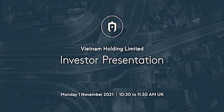 VNH Investor Update Webinar tickets