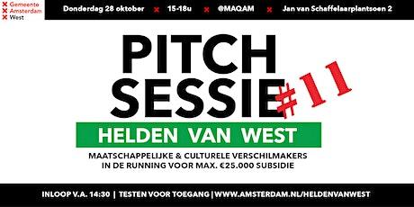 Helden van West | Pitch-Sessie #11 tickets