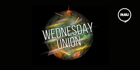 Wednesday Union tickets