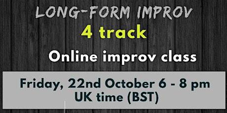 Online improv  Long-form 4-track (format) entradas