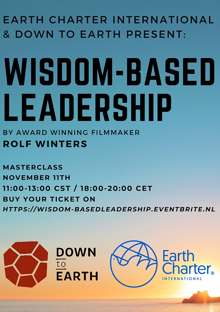 Masterclass on Wisdom-based Leadership by Rolf Winters and Mirian Vilela image