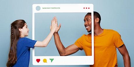 Samen Sociaal Online met koffie en 'cookies'. tickets
