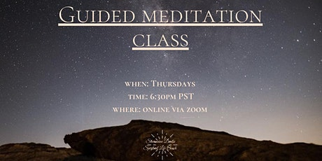 Guided Group Meditation Class tickets