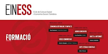 Formació EinESS 2021: Arts Visuals Digitals (Alba G Corral) entradas