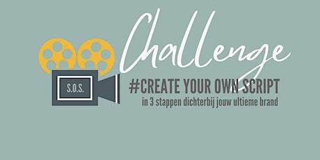 "Challenge ""create your own script' tickets"