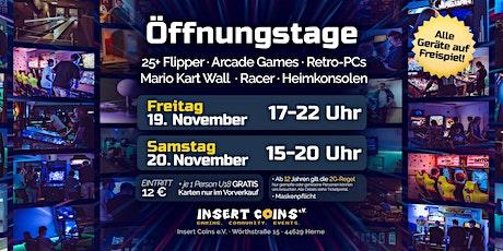 Öffnungstag (FREITAG 19.11.21) Tickets