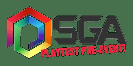 Playtest & Showcase  SGA'21 tickets
