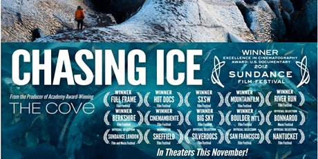 Movie Night - 'Chasing Ice'  - with Dr James Bendell tickets