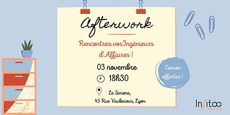 Afterwork Insitoo à Lyon  tickets
