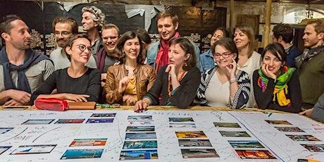 Formation à l'animation de La Fresque du Climat à Montpellier par Corinne D billets