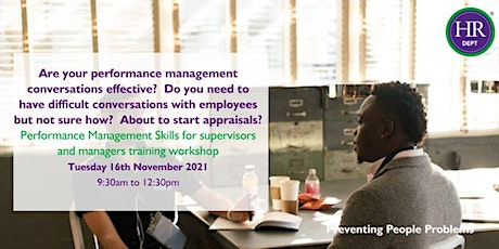 Performance Management Skills for Supervisors and Managers tickets