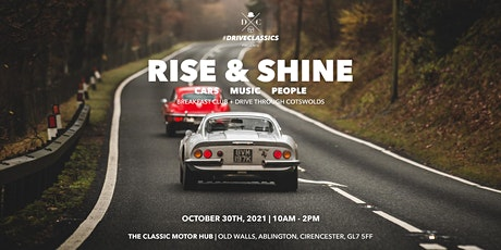 RISE & SHINE COTSWOLDS tickets