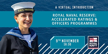 A Virtual Introduction: Accelerated Ratings and Officers Programmes tickets