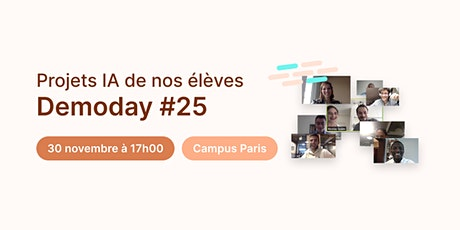 Data Demoday #25 Jedha Bootcamp tickets