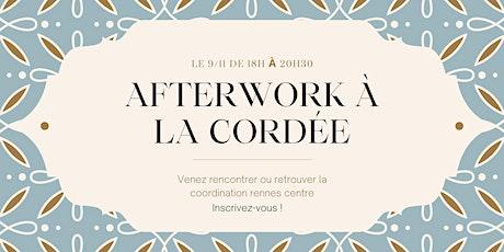 Rennes Centre - Rencontre Afterwork à la cordée ! billets