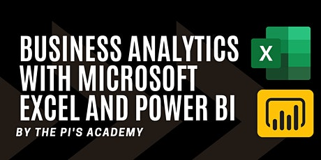 BUSINESS ANALYTICS WITH MICROSOFT EXCEL AND POWER BI tickets