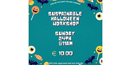 Sustainable Halloween Workshop tickets