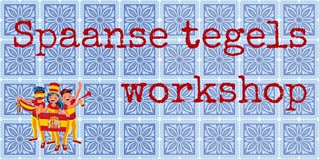 Spaanse tegels - workshop - ARTODO (S) tickets