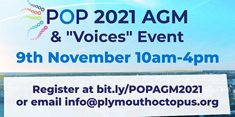 POP AGM 2021 & Voices Event tickets