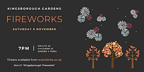 Kingsborough Gardens Fireworks Display tickets
