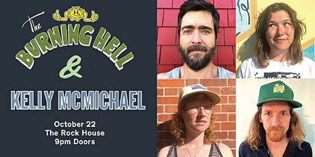 The Burning Hell and Kelly McMichael at the Rock House tickets