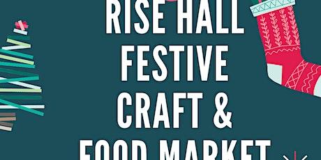Christmas Craft & Food Market, Rise Hall tickets