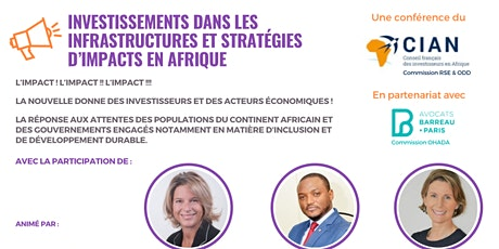 Investissements & Stratégies d'Impact en Afrique billets