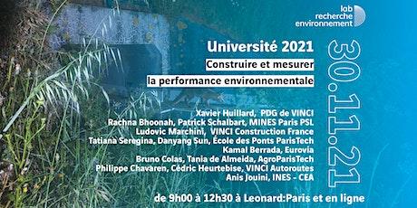 Université du lab 2021 EN PRÉSENTIEL billets